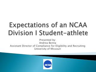 Expectations of an NCAA Division I Student-athlete