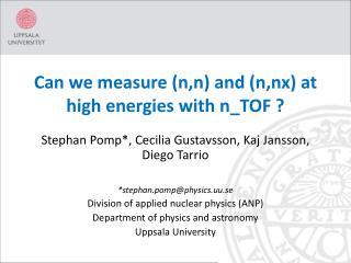 Can we measure ( n,n ) and ( n,nx ) at high energies with  n_TOF  ?