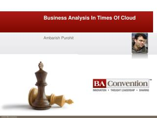 Business Analysis In Times Of Cloud