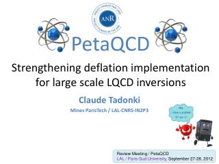 Strengthening deflation implementation  for large scale LQCD inversions
