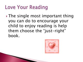 Love Your Reading