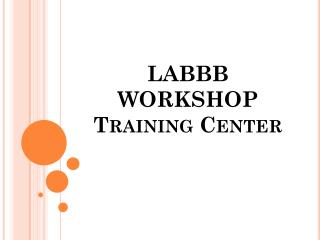 LABBB  WORKSHOP Training Center