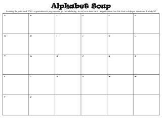 5 Alphabet Soup Grid