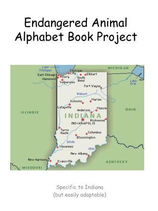 Endangered Animal Alphabet Book Project