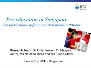 Pre-education in Singapore
