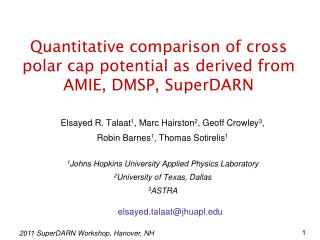 Quantitative comparison of cross polar cap potential as derived from AMIE, DMSP, SuperDARN