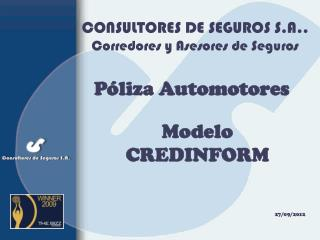 CONSULTORES DE SEGUROS S.A.. Corredores y Asesores de Seguros