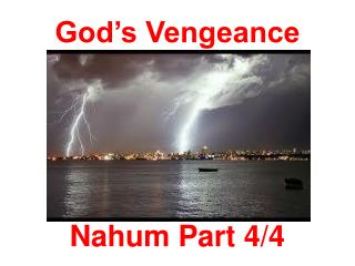 God's Vengeance