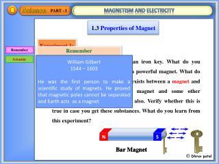 1.3  Properties of Magnet