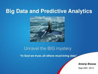 Big Data and Predictive Analytics