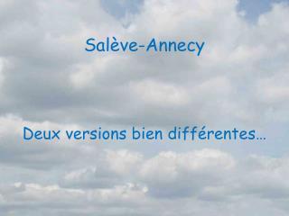 Salève-Annecy