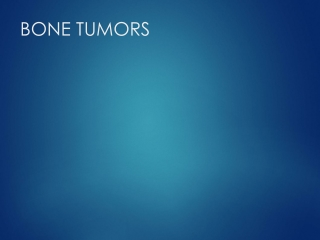 Benign Bone Tumor Part I