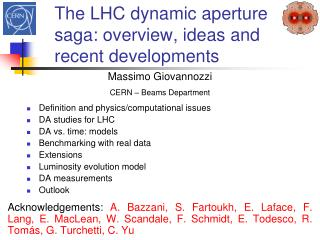 The LHC dynamic aperture saga: overview, ideas and recent developments