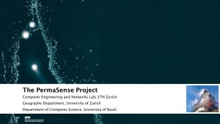 The PermaSense Project