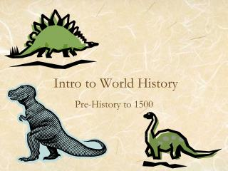 Intro to World History