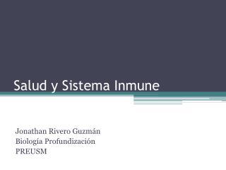 Salud y Sistema Inmune
