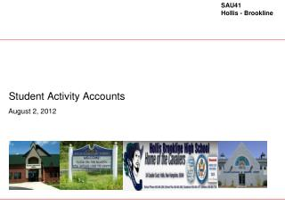 Student Activity Accounts