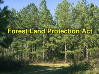 Forest Land Protection Act
