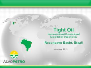 Tight Oil Unconventional/Conventional Exploitation Opportunity Reconcavo Basin, Brazil