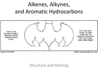 Alkenes, Alkynes,  and Aromatic Hydrocarbons