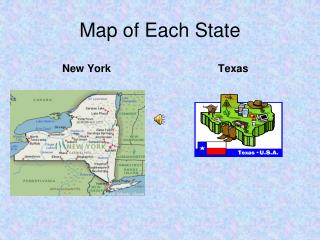 Map of Each State