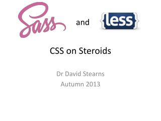 CSS on Steroids