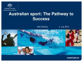 Australian sport: The Pathway to Success