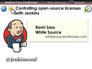 Controlling open-source licenses with Jenkins