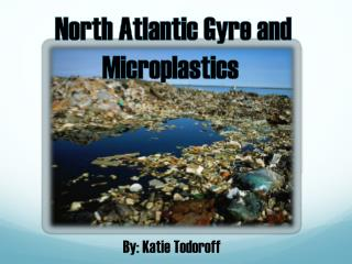 North Atlantic Gyre and  Microplastics