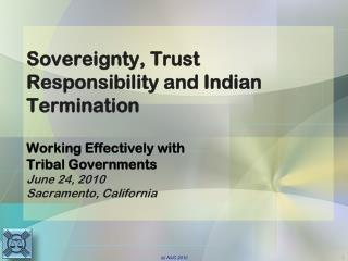 Sovereignty - Defined
