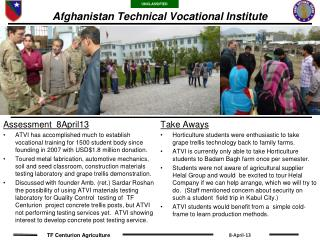 Afghanistan Technical Vocational Institute