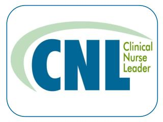 What is a Clinical Nurse Leadersm