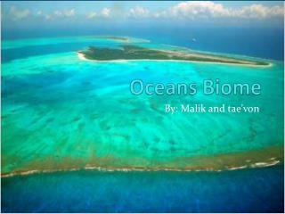 Oceans Biome