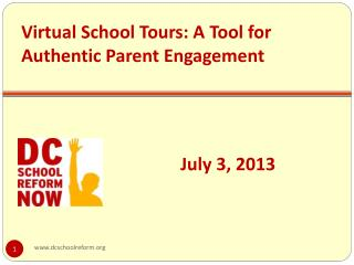 Virtual School Tours: A Tool for Authentic Parent Engagement