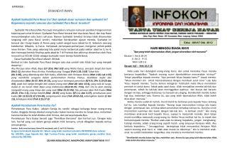 Edisi :  XXVI/7  Okt . 2012