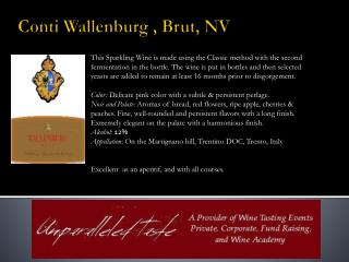 Conti Wallenburg , Brut, NV