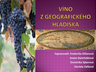 Víno  z geografického hľadiska