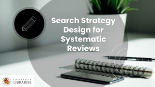 Part 2 How to do a  Cochrane systematic review