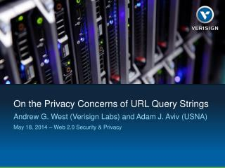 On the Privacy Concerns of URL Query Strings