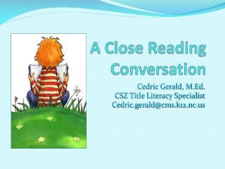 A Close Reading Conversation