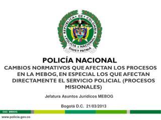Bogotá D.C.   21 /03/2013