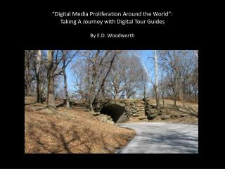 """Digital Media Proliferation Around the World"":  Taking A Journey with Digital Tour Guides"