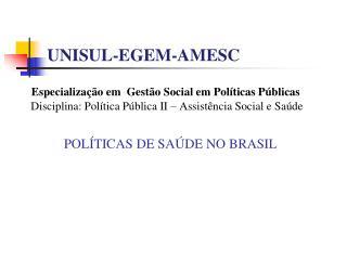UNISUL-EGEM-AMESC