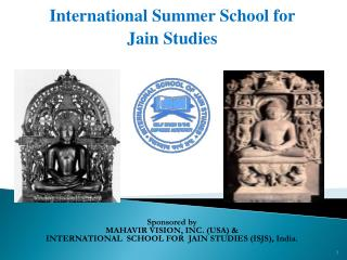 International Summer School for  Jain Studies