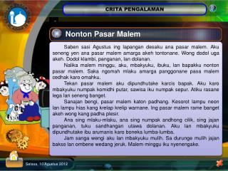 Nonton Pasar Malem