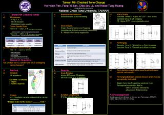 c) Voice Quality  Juncture Tones 5:  Higher  H1*-A3*  → less tense Juncture tones 3 & 5 Merging