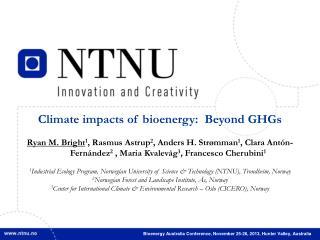 Bioenergy Australia  Conference , November 25-26, 2013, Hunter Valley, Australia