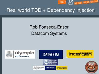 Real world TDD + Dependency Injection