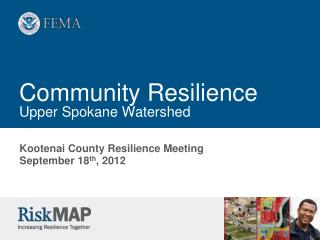 Community Resilience Upper Spokane Watershed