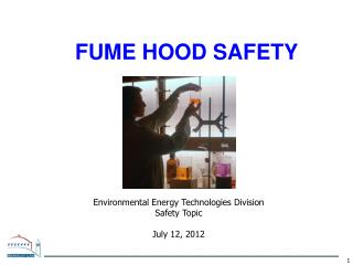 FUME HOOD SAFETY